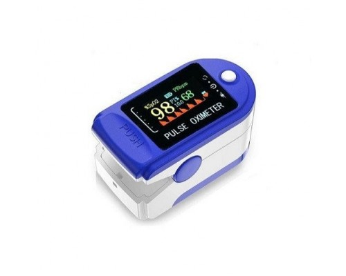 Пульсоксиметр на палец Fingertip Pulse Oximeter Р-01LCD